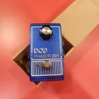 DOD Phasor 201 Blue Phase Pedal in box