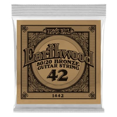 Ernie Ball .042 Single 80/20 Bronze String