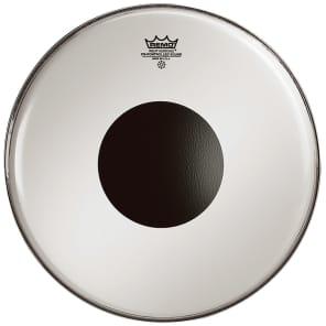 """Remo Controlled Sound Top Black Dot Drum Head 20"""""""