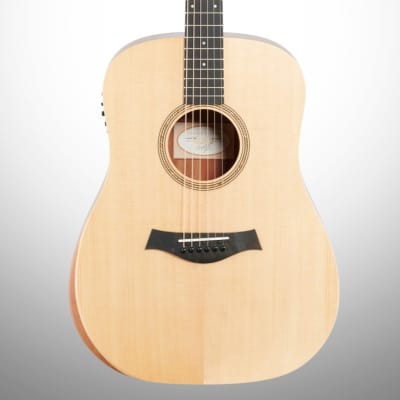 Taylor A10e Academy Series Dreadnought Acoustic-Electric Guitar (with Gig Bag), Natural