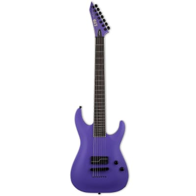 Godin SC-607 Baritone 1 Hum  7-String Electric Guitar - Purple Satin for sale