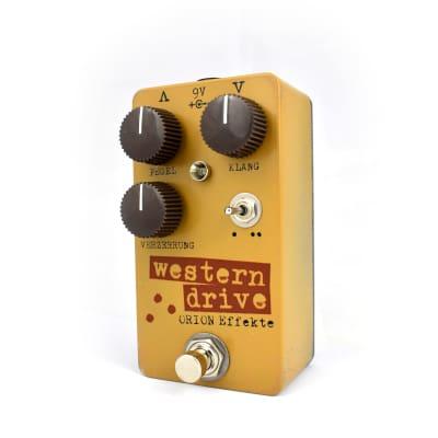 Western Drive 2 :: Orion Effekte / trocken knochiges Overdrive Pedal