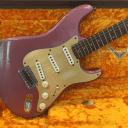 Fender Custom Shop Ltd. Ed. NAMM '59 Stratocaster Heavy Relic, 2017, Burgundy Mist, MINT