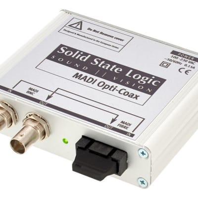 Solid State Logic MADI Opti-Coax 64 Channel MADI Converter