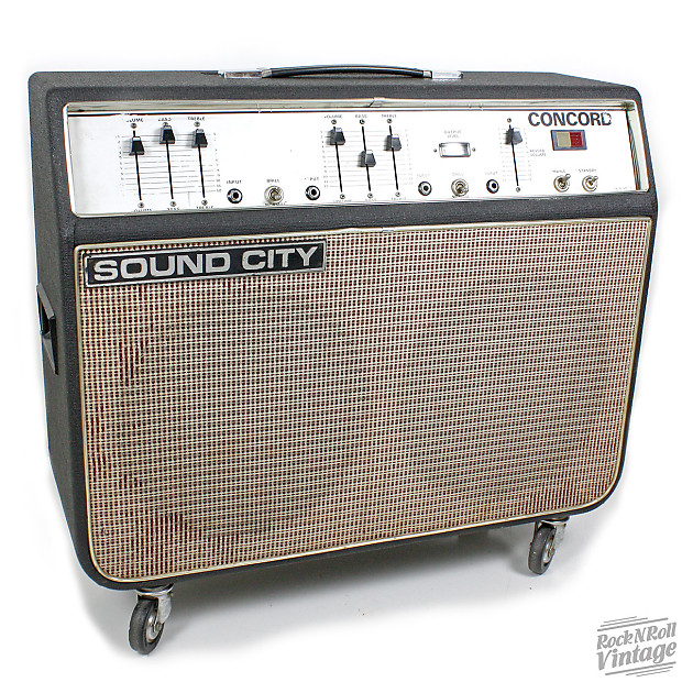 Sound City Concord Amp For Sale