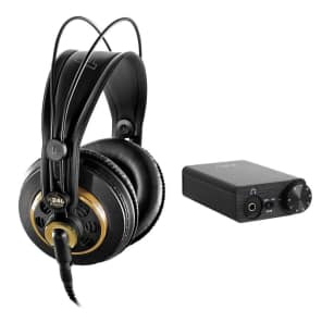 8fa33c5cdad AKG K 240 Studio Professional Semi-Open Stereo Headphones with FiiO E10K  USB DAC Headphone