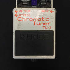 Collectors Alert! Gary Moore Son Owned BOSS TU-Tuner Pedal!