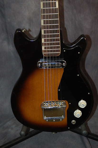 teisco del ray e110 tulip body ry cooder pickup pro setup reverb
