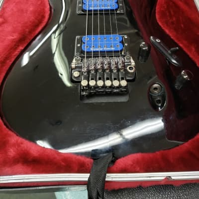 2007 Ibanez S-520 EX Black w/ Seymour Duncan Pickups for sale
