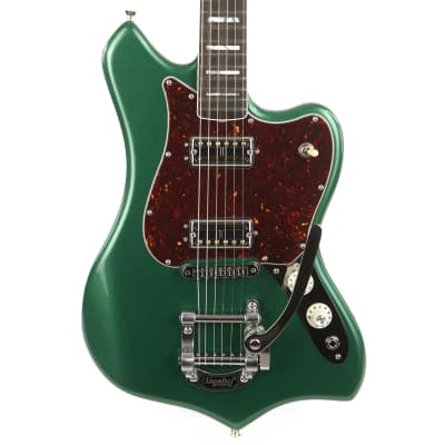 Fender Parallel Universe Maverick Dorado Cadillac Green for sale