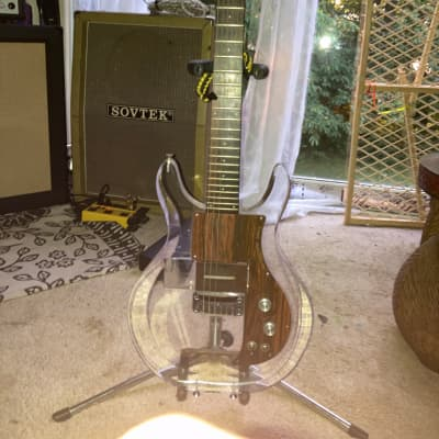 1969 Ampeg Dan Armstrong Lucite Guitar Clear 1970