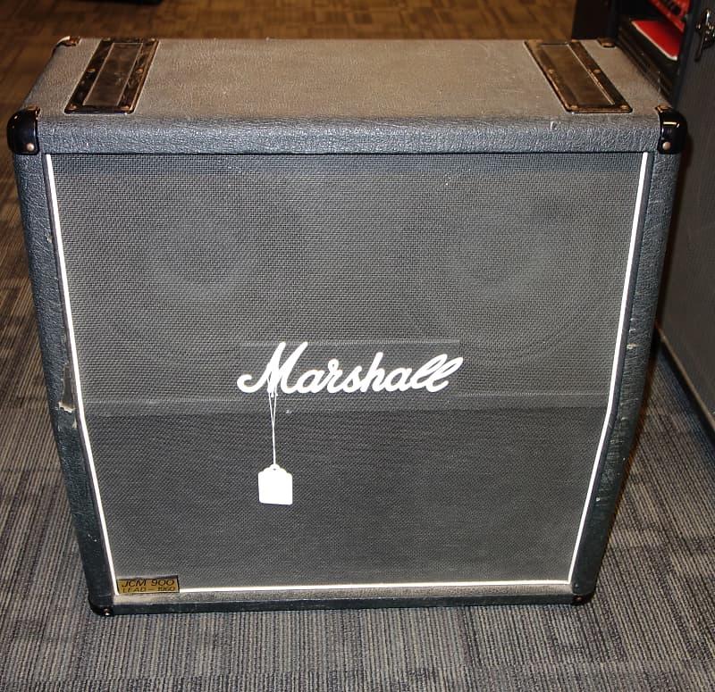 marshall jcm 900 1960a 4x12 speaker cab cabinet no casters reverb. Black Bedroom Furniture Sets. Home Design Ideas