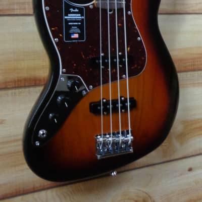 New Fender® American Professional II Jazz Bass® Left-Handed 3-Color Sunburst w/Case
