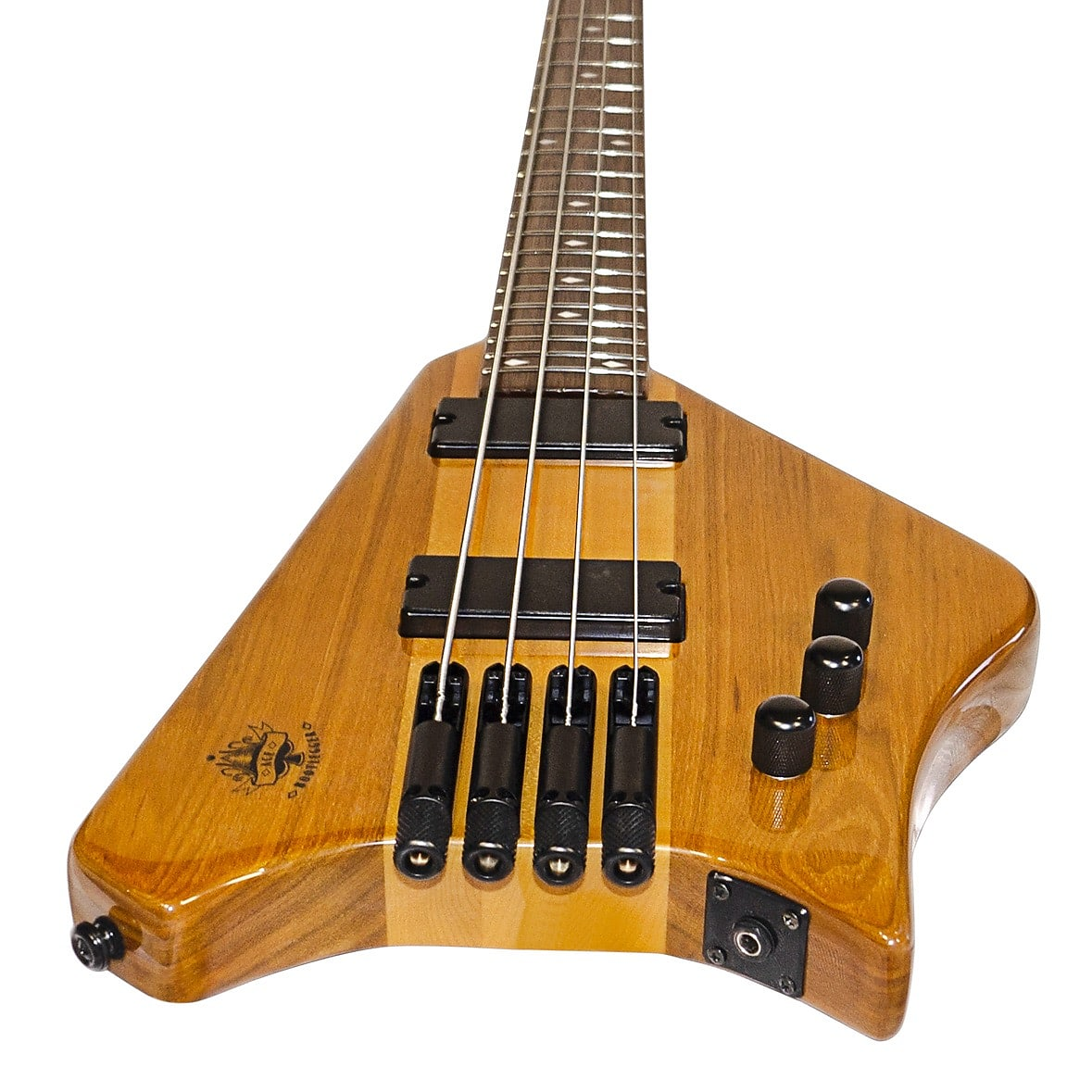Bootlegger  Ace 4 String Headless Travel Pro Bass With Custom OHSC Case