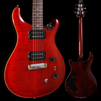 PRS Paul Reed Smith SE Paul's Guitar w/ Bag, Fire Red 811 6lbs 2.6oz for sale