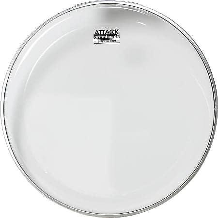 attack 1 ply clear medium drum head dha10 reverb. Black Bedroom Furniture Sets. Home Design Ideas