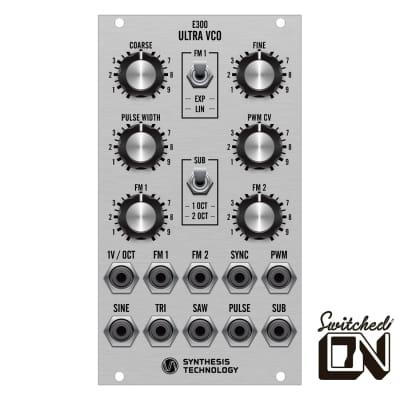 Synthesis Technology E300 Ultra VCO Silver