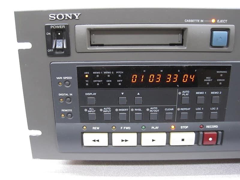 Sony PCM-800 DAT Digital Audio Recorder PCM800 Music Studio