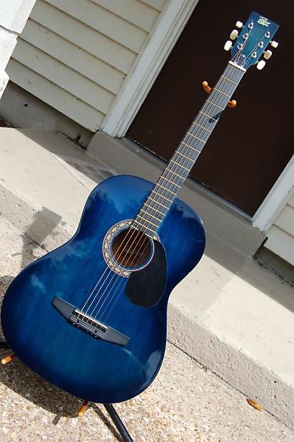rogue acoustic guitar steel string rag bl blueburst reverb. Black Bedroom Furniture Sets. Home Design Ideas
