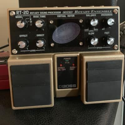 Boss RT-20 Rotary Ensemble Leslie Chorus Overdrive Pedal 100% Mint for sale