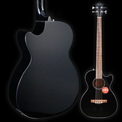 Fender CB-60SCE Bass, Laurel Fingerboard, Black 471 5lbs 5.2oz for sale
