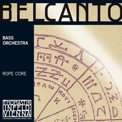 Thomastik-Infeld BC64 Belcanto Chrome Wound Rope Core 3/4 Double Bass Orchestra String - E (Medium)