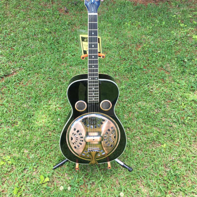 Michael Kelley Bayou Resonator Round neck Dobro for sale