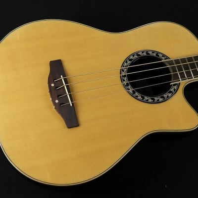 Applause by Ovation AE140-4 Acoustic-Electric Bass Guitar - Natural (294) for sale