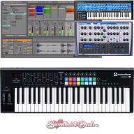 Novation Launchkey 49 MKII Usb MIDI Keyboard Controller Production Bundle