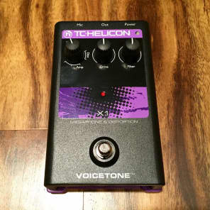 TC Helicon VoiceTone X1 Vocal Distortion Pedal