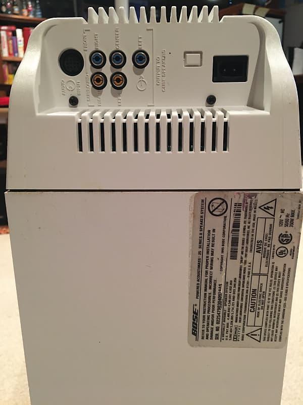 Bose Acoustimass System 25 Series Ii Speaker System 1995