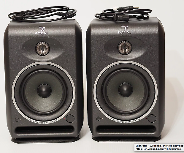 focal cms65 powered monitor pair reverb. Black Bedroom Furniture Sets. Home Design Ideas
