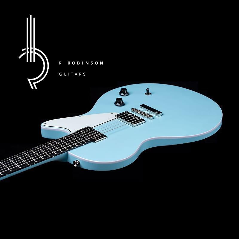 r robinson sb17 2018 robins egg blue r robinson guitars reverb. Black Bedroom Furniture Sets. Home Design Ideas
