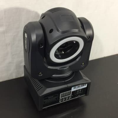 ColorKey Halo Beam QUAD compact moving head with a color changing LED halo - Customer Return