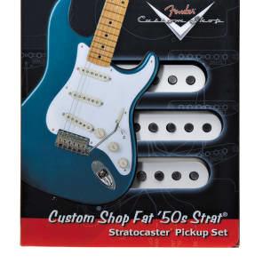 Genuine Fender Custom Shop Fat 50's Stratocaster® Pickup set, 099-2113-000 NEW