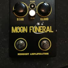 Midnight Amplification Moon Funeral 2017 Black and Yellow