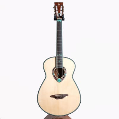 Lame Horse 'Belagana' Custom Elko Acoustic Guitar, Figured Sinker Honduran Mahogany & Engelmann Spruce - Pre-Owned for sale