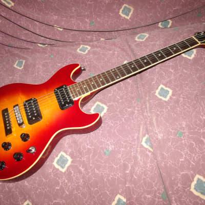 1984 Fender Flame Standard 1984 Cherry Sunburst VG+ Fuji-Gen Black Friday Sale for sale