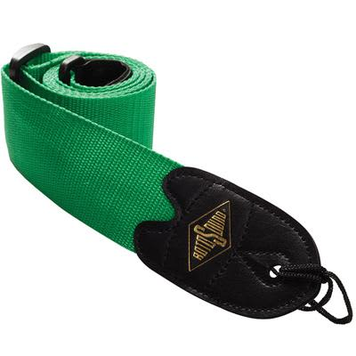 Rotosound Webbing Guitar Strap - Green for sale