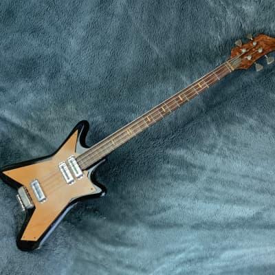 Aelita Bass Kavkaz USSR Soviet Union Era 70's Black for sale