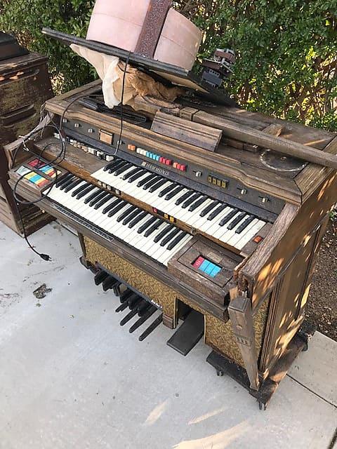 1975 Hammond Console Organ & 1967/68Leslie Cabinet Project