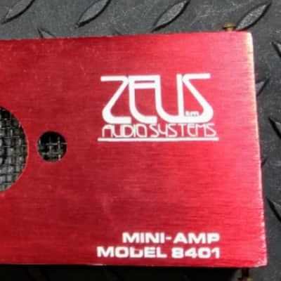 BROKEN Zeus 8401 Mini Amp 1980's RARE Randy Rhoads + MPC Electra Phase Shifter Unit FREE SHIPPING image