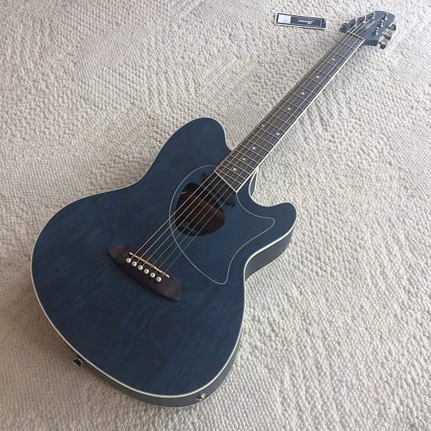 Ibanez Talman Series Tcm50 Acoustic Electric Guitar Dark Reverb