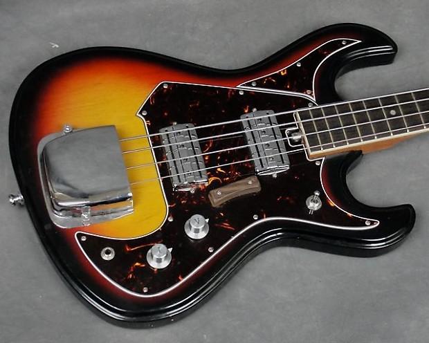 vintage teisco kingston bass guitar 4 string made in japan reverb. Black Bedroom Furniture Sets. Home Design Ideas