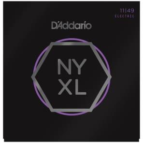 D'Addario NYXL1149 Nickel Wound Electric Guitar Strings, Medium Gauge