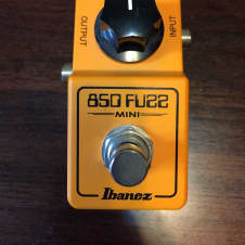 Ibanez 850 Fuzz Mini Orange