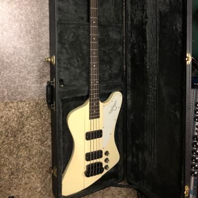 White Gibson Thunderbird IV Bass for sale