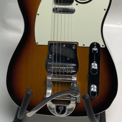 Fender '60s Telecaster Custom Bigsby MIJ 3 tone sunburst for sale