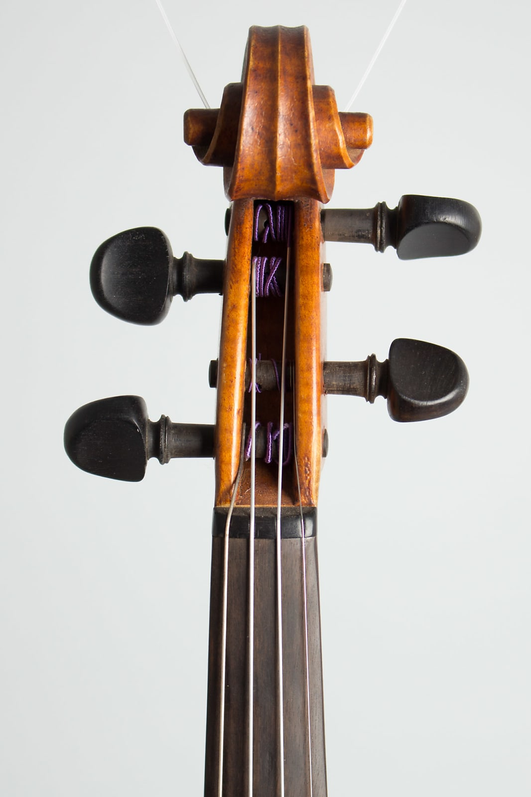 Frantisek Zivec Violin 1959 Amber Varnish Finish, curly maple and spruce, brown canvas hard shell cs
