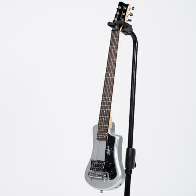 Hofner Shorty Electric Guitar - Silver Sparkle for sale